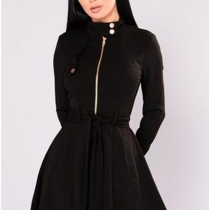 Fashion Nova Feeling Fancy Collar Dress